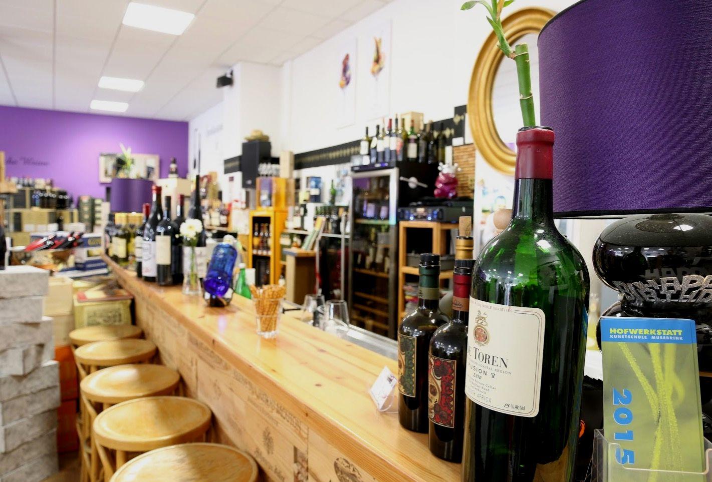 Weinpalette Essen