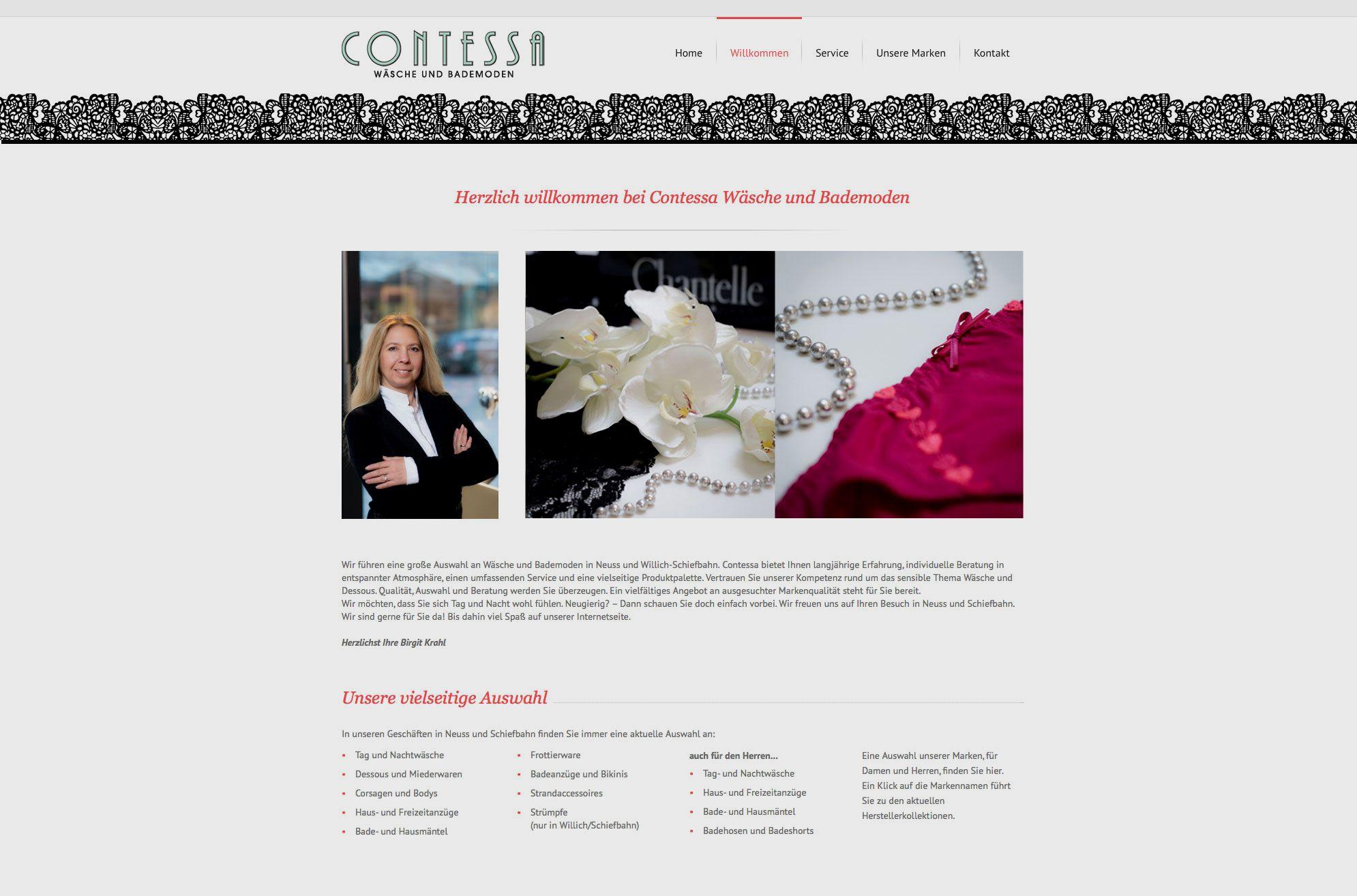 Contessa Wäsche und Bademoden