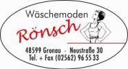 Wäschemoden Rönsch