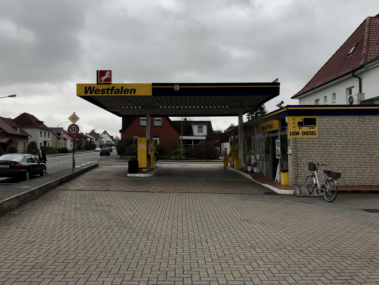 Westfalen Tankstelle Wielage