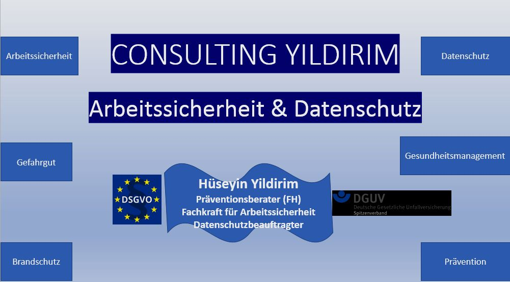 Consulting Yildirim Arbeitssicherheit&Datenschutz