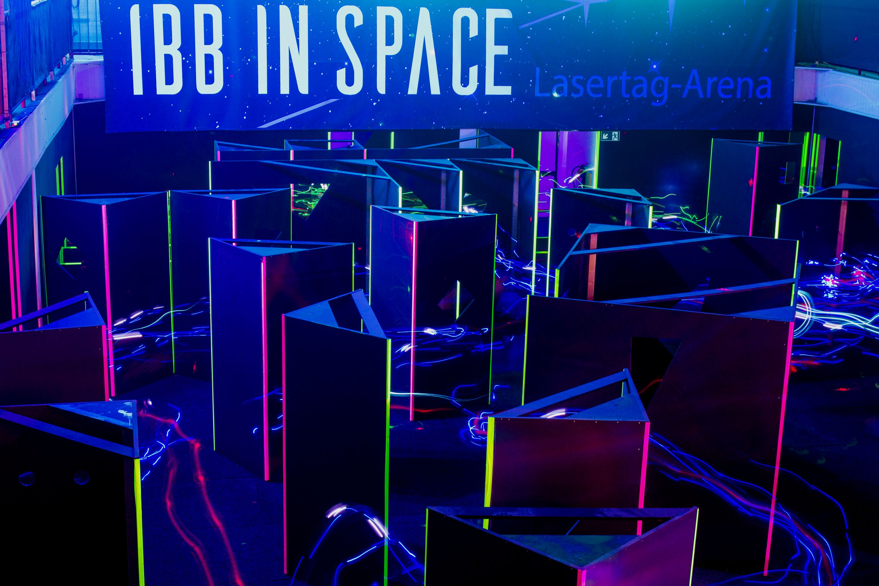Ibb in Space - Lasertag-Arena Ibbenbüren