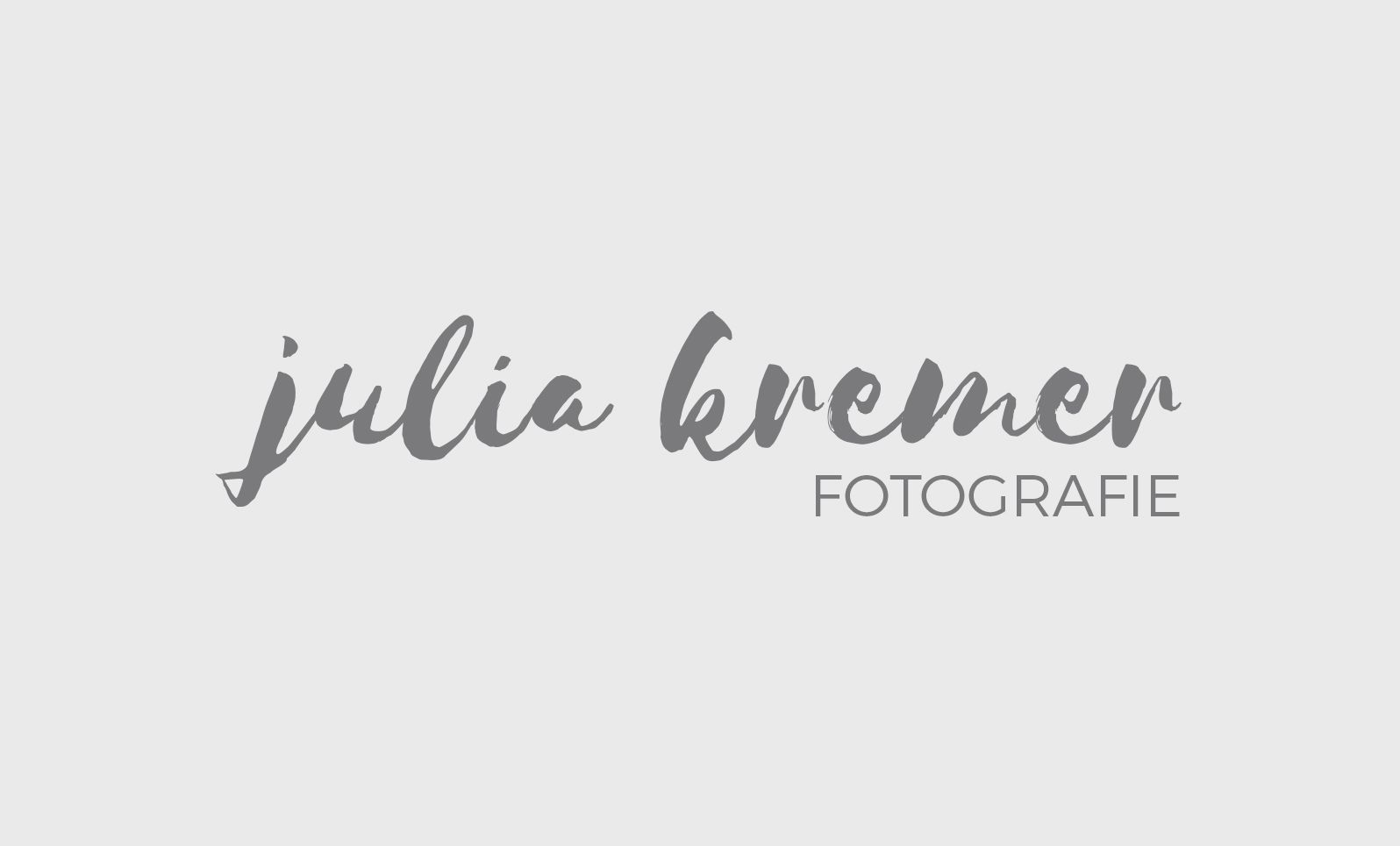 Julia Kremer Fotografie