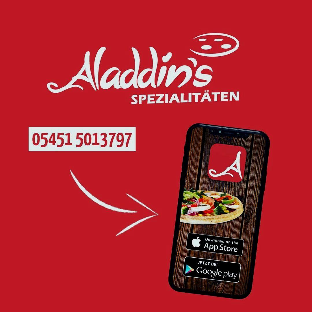 Aladdin's Spezialitäten