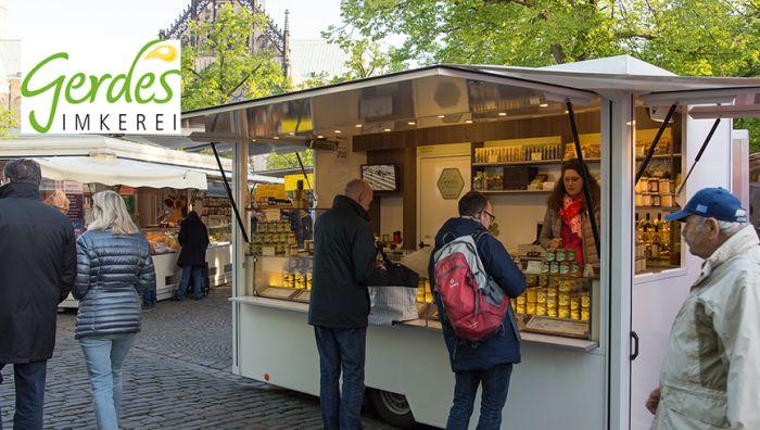 Imkerei Gerdes - Wochenmarkt