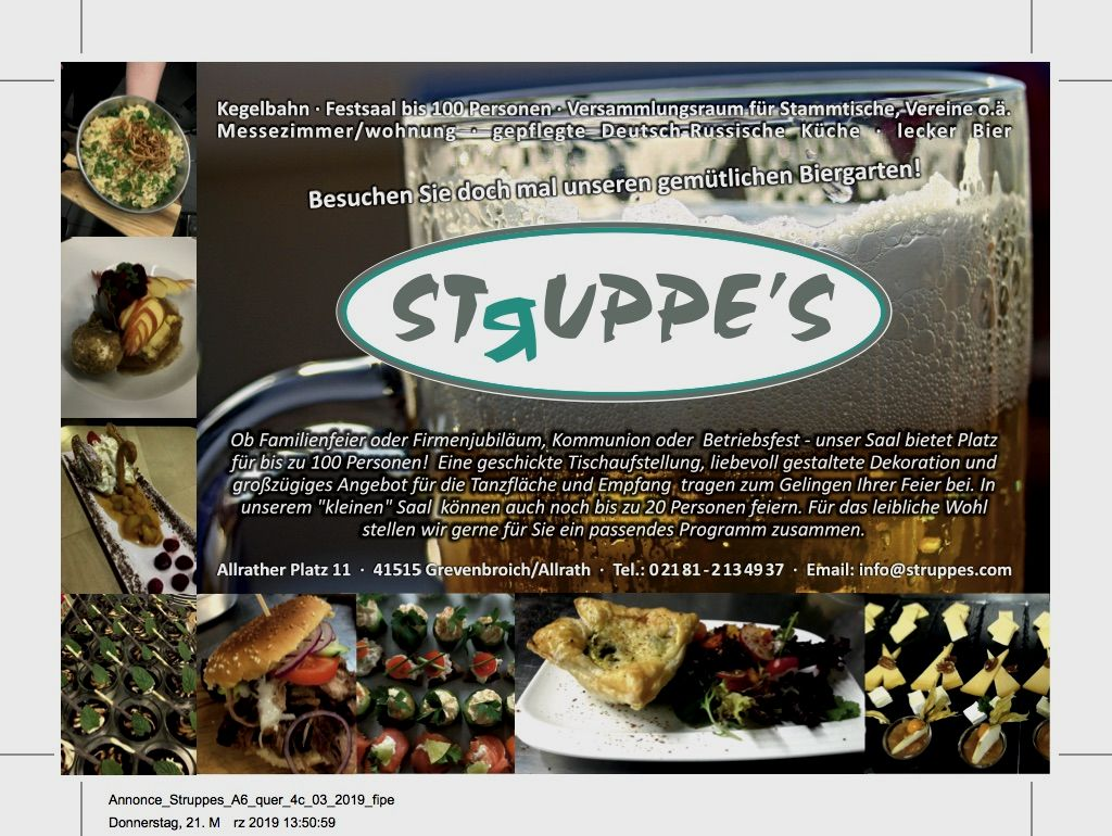 """""""Struppe's"""""""