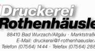 Druckerei Rothenhäusler