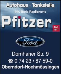 Autohaus Pfitzer Inh. Boris Rapljenovic