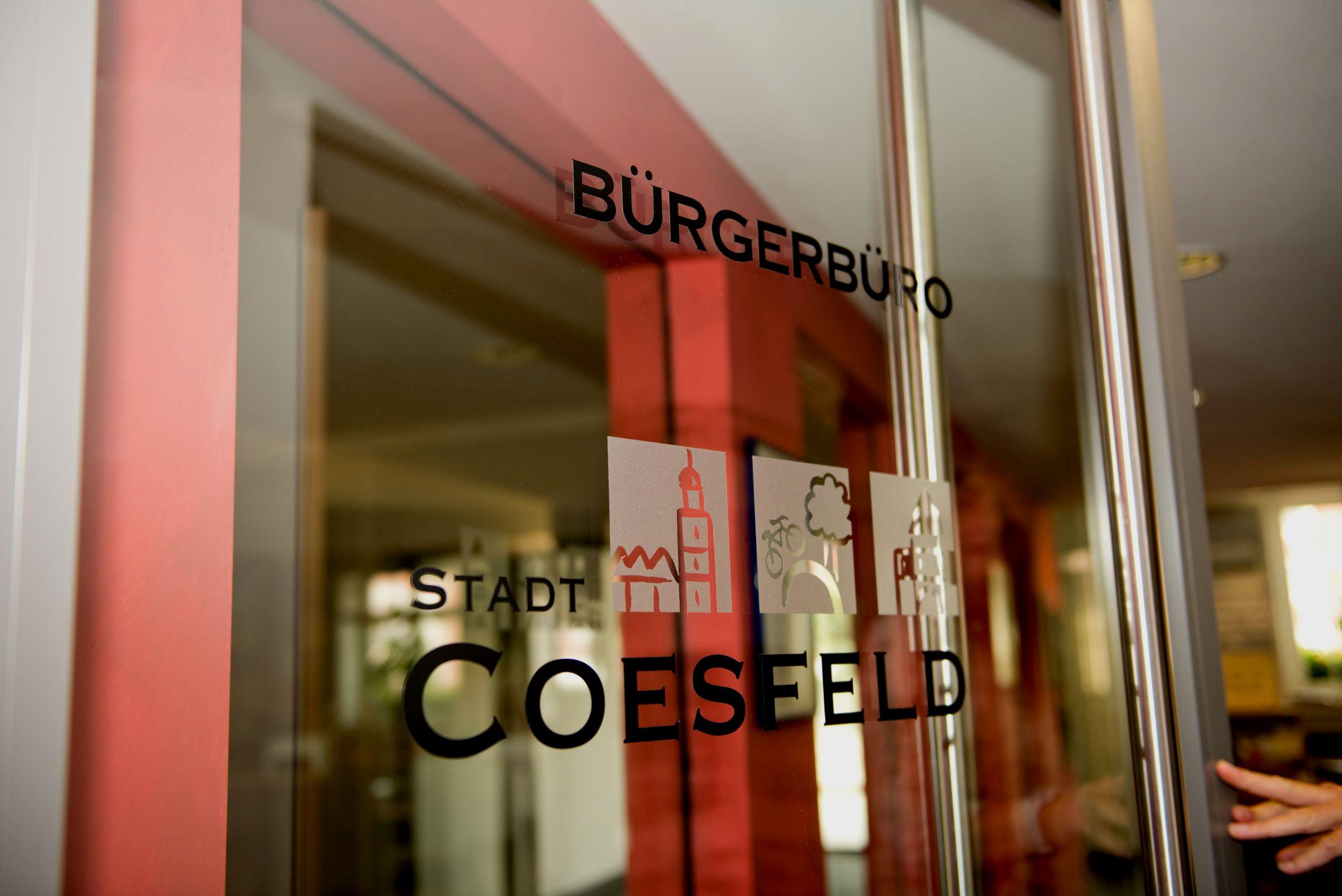 Bürgerbüro Stadt Coesfeld