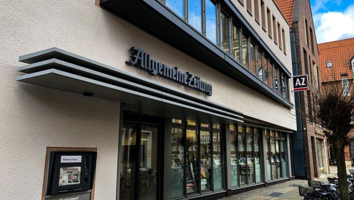 Allgemeine Zeitung / Verlag J. Fleißig