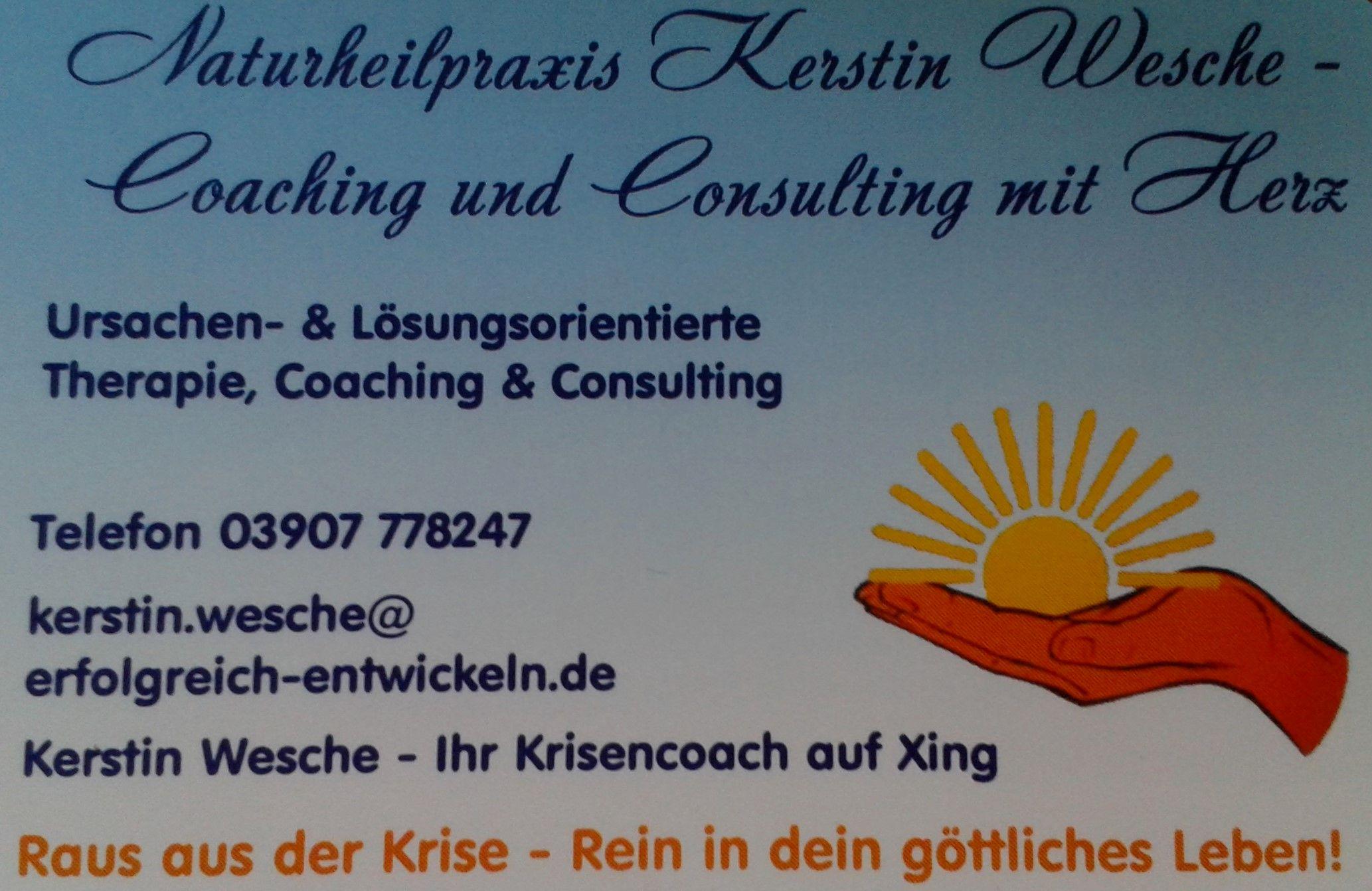 Naturheilpraxis Kerstin Wesche Coaching & Beratung