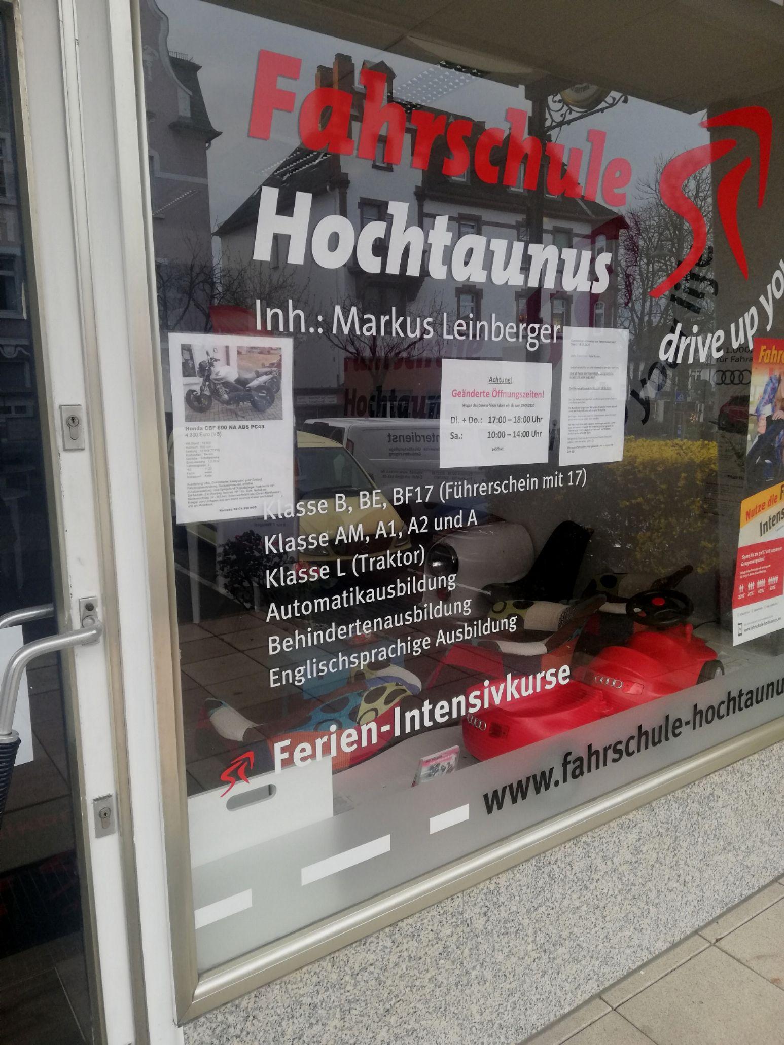 FAHRSCHULE HOCHTAUNUS Inh.: Markus Leinberger