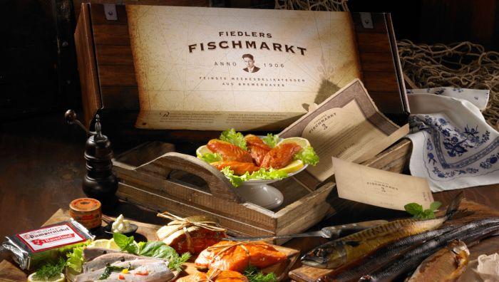Fiedlers Fischmarkt anno 1906 - H.-J. Fiedler Meeresdelikatessen