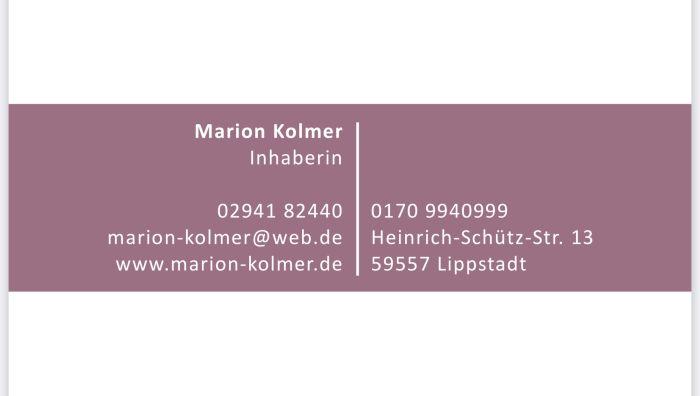 Institut für Kosmetik & Fußpflege Marion Kolmer