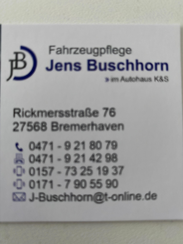 Fahrzeugaufbereitung Jens Buschhorn