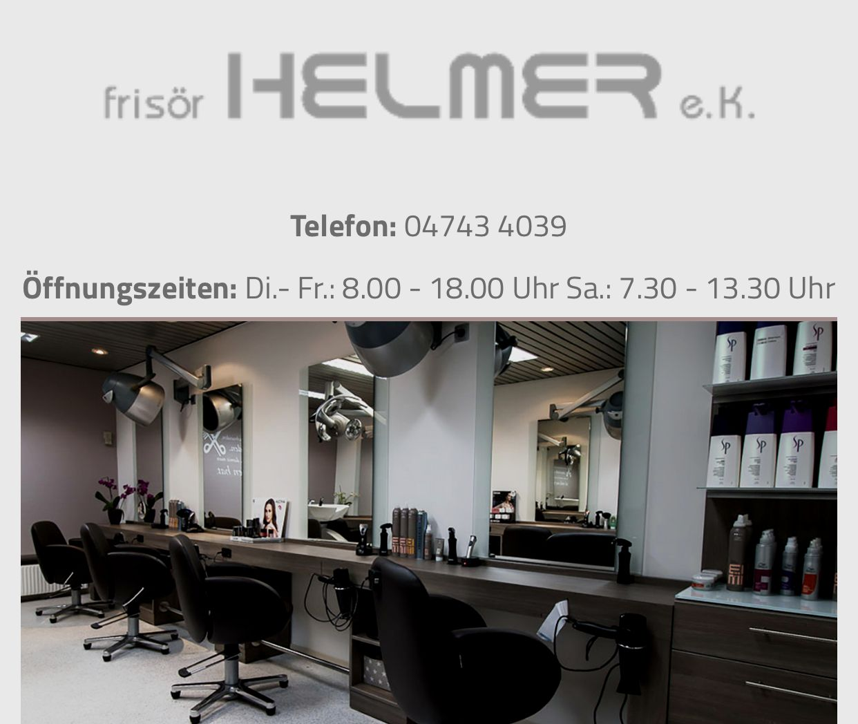 Frisör Helmer