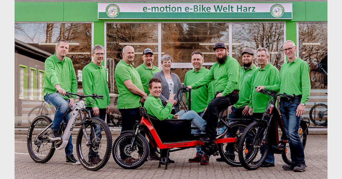 e-motion e-Bike Welt Harz