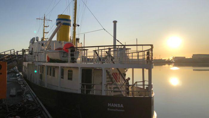 Salondampfer Hansa