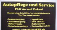 Autopflege u. Service PKW An- und Verkauf