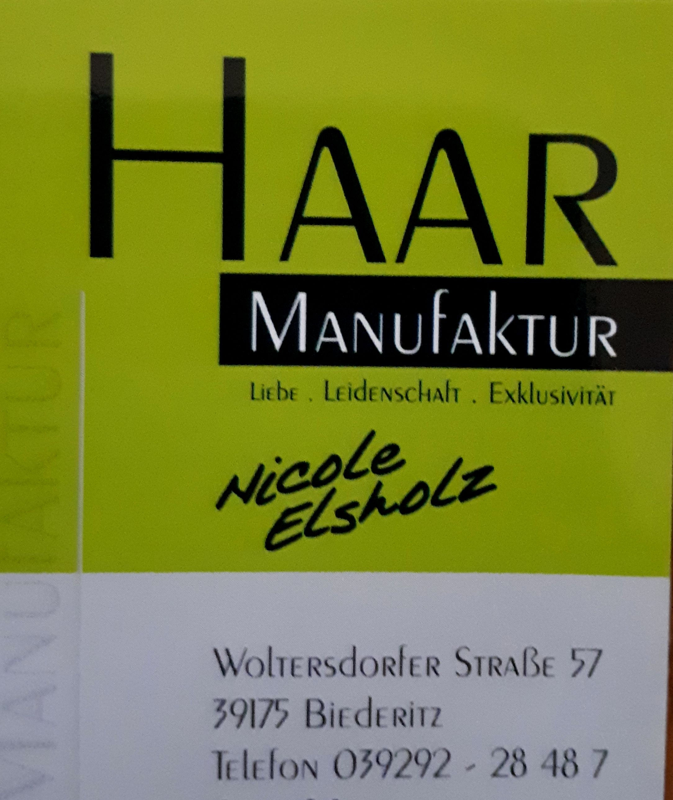 Haarmanufaktur Nicole Elsholz