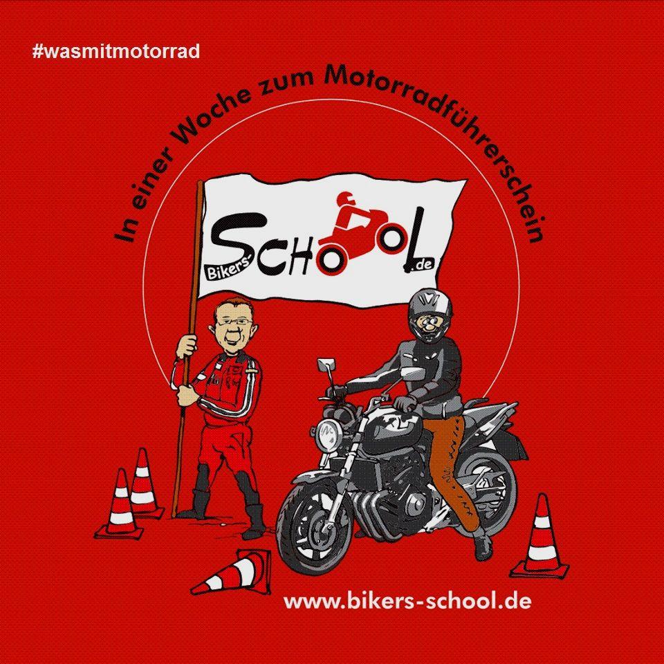 Bikers School Team Dorf Münsterland #wasmitmotorrad