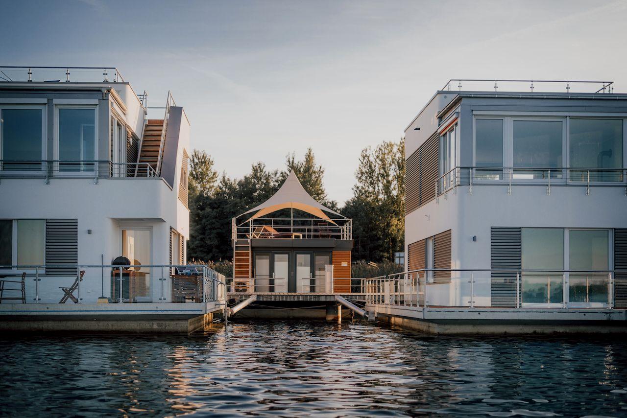 Hausbootvermietung Seeblick