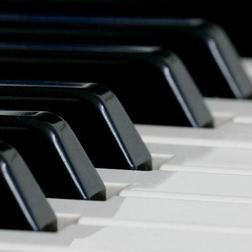 Klavierunterricht an der See