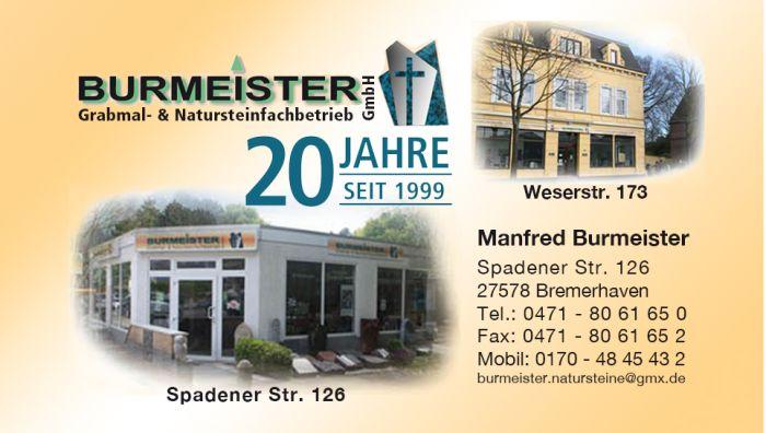 Burmeister GmbH Grabmal -& Natursteinfachbetrieb