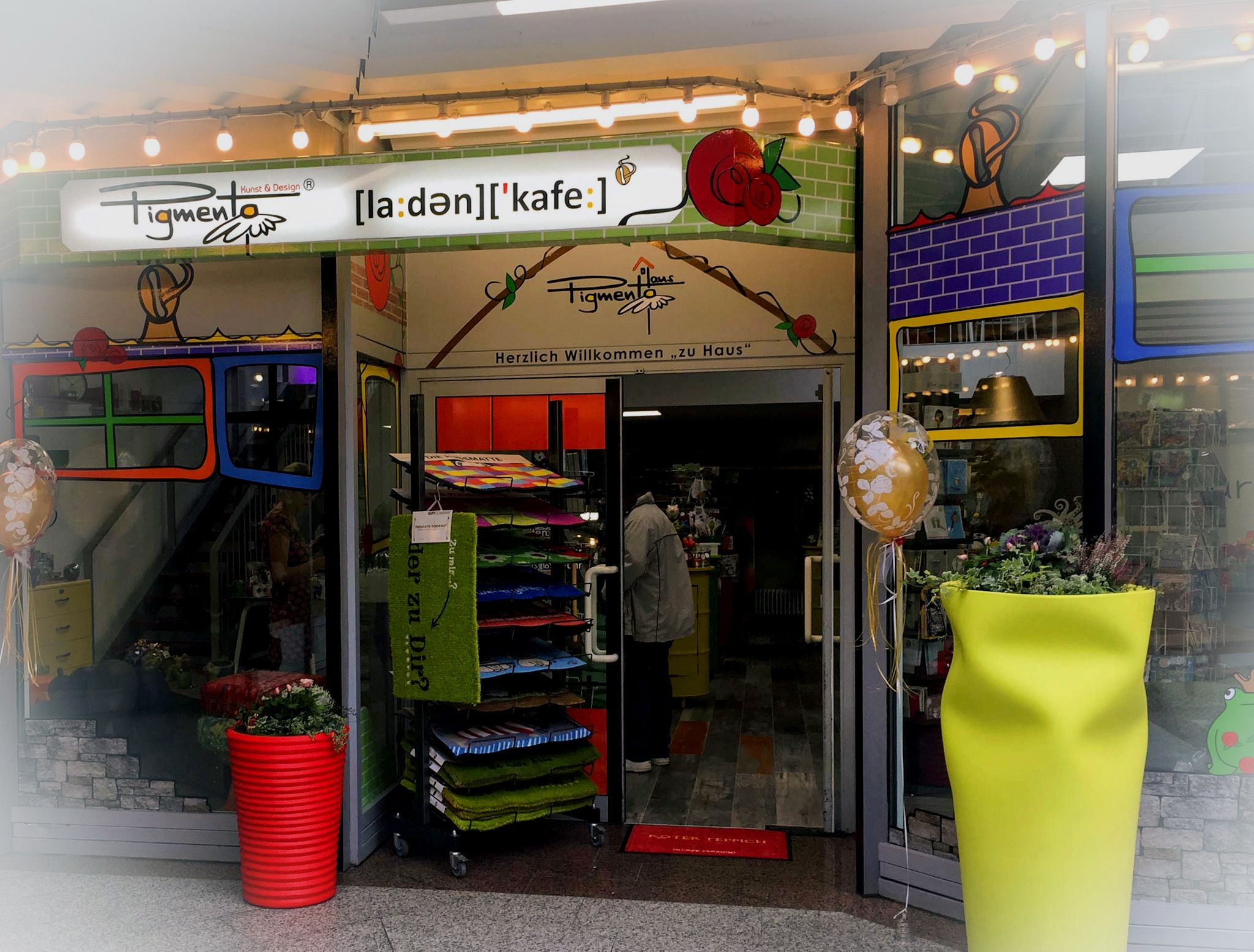 PIGMENTO Kunst & Design Laden-Café