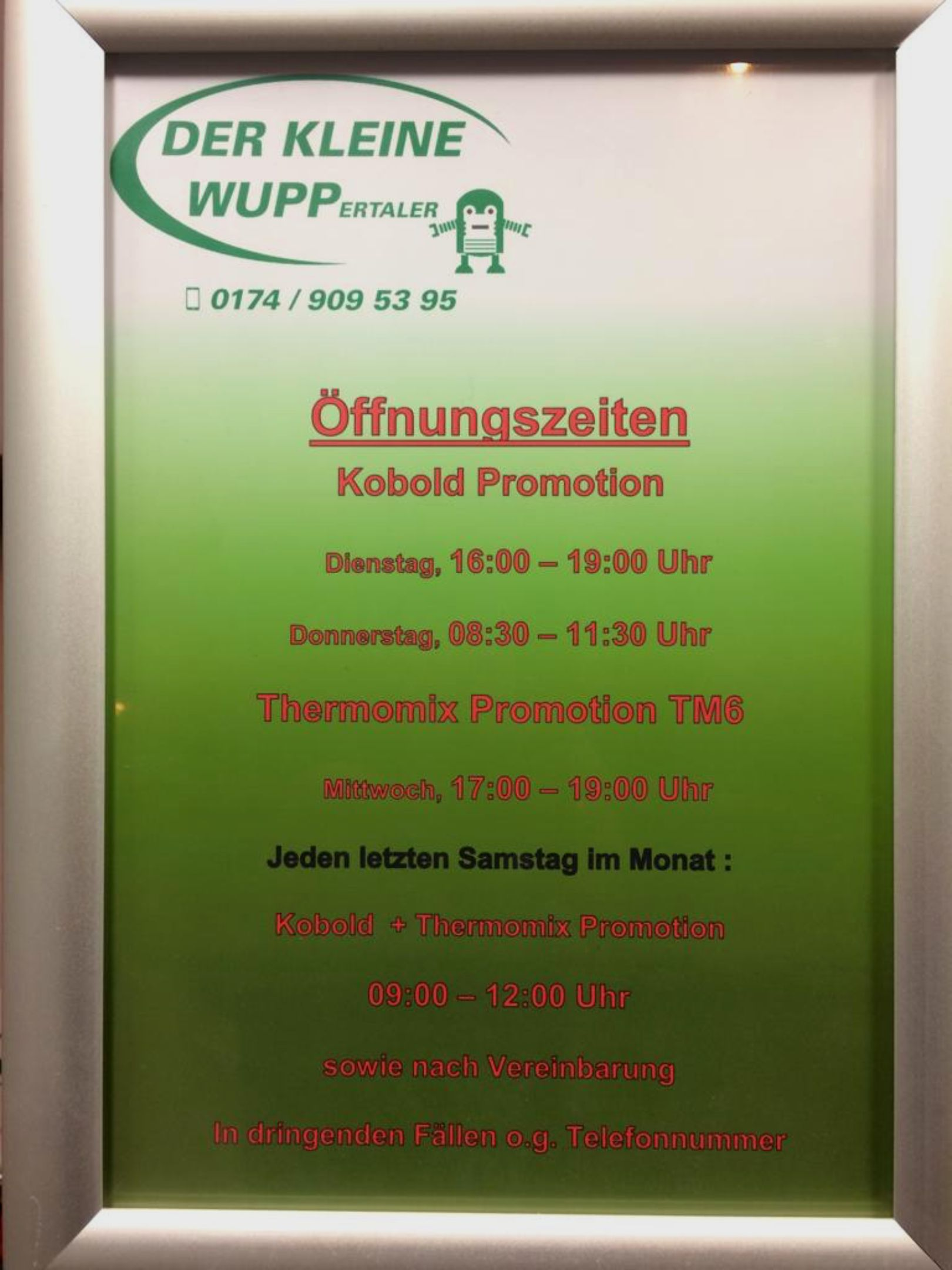 """""""Der Kleine WUPP""""  - Sauber/Gesund+Schön"""