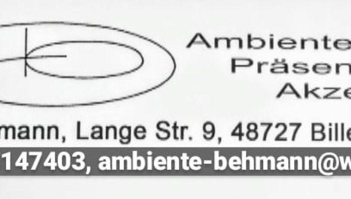 Ambiente-Präsente-Akzente R. Behmann