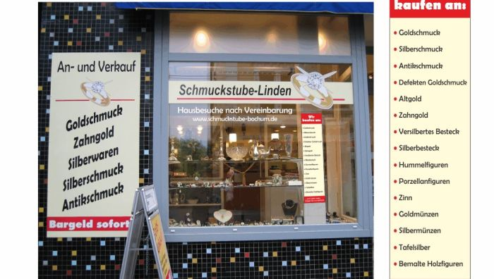 Schmuckstube Linden