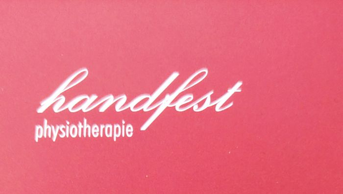 Physiotherapie handfest