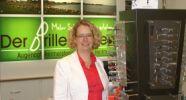 Der Brillenladen-Augenoptikermeisterin Wiebke Heitmann