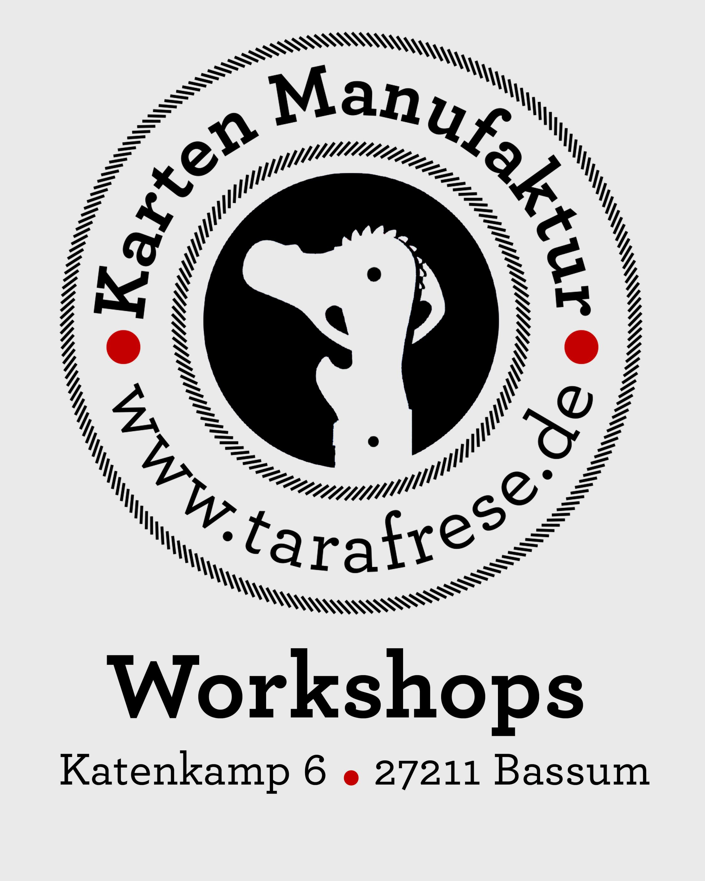 Kartenmanufaktur Workshops