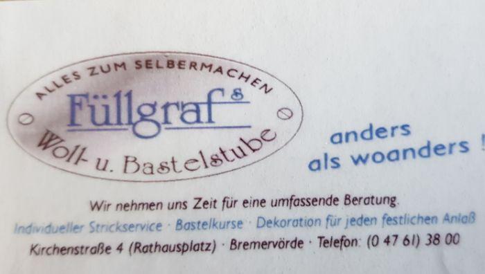 FÜLLGRAF'S WOLL- UND BASTELSTUBE