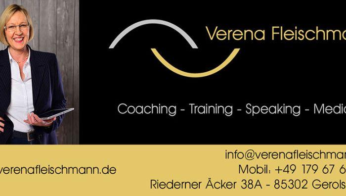 Verena Fleischmann Coaching Training Mediation