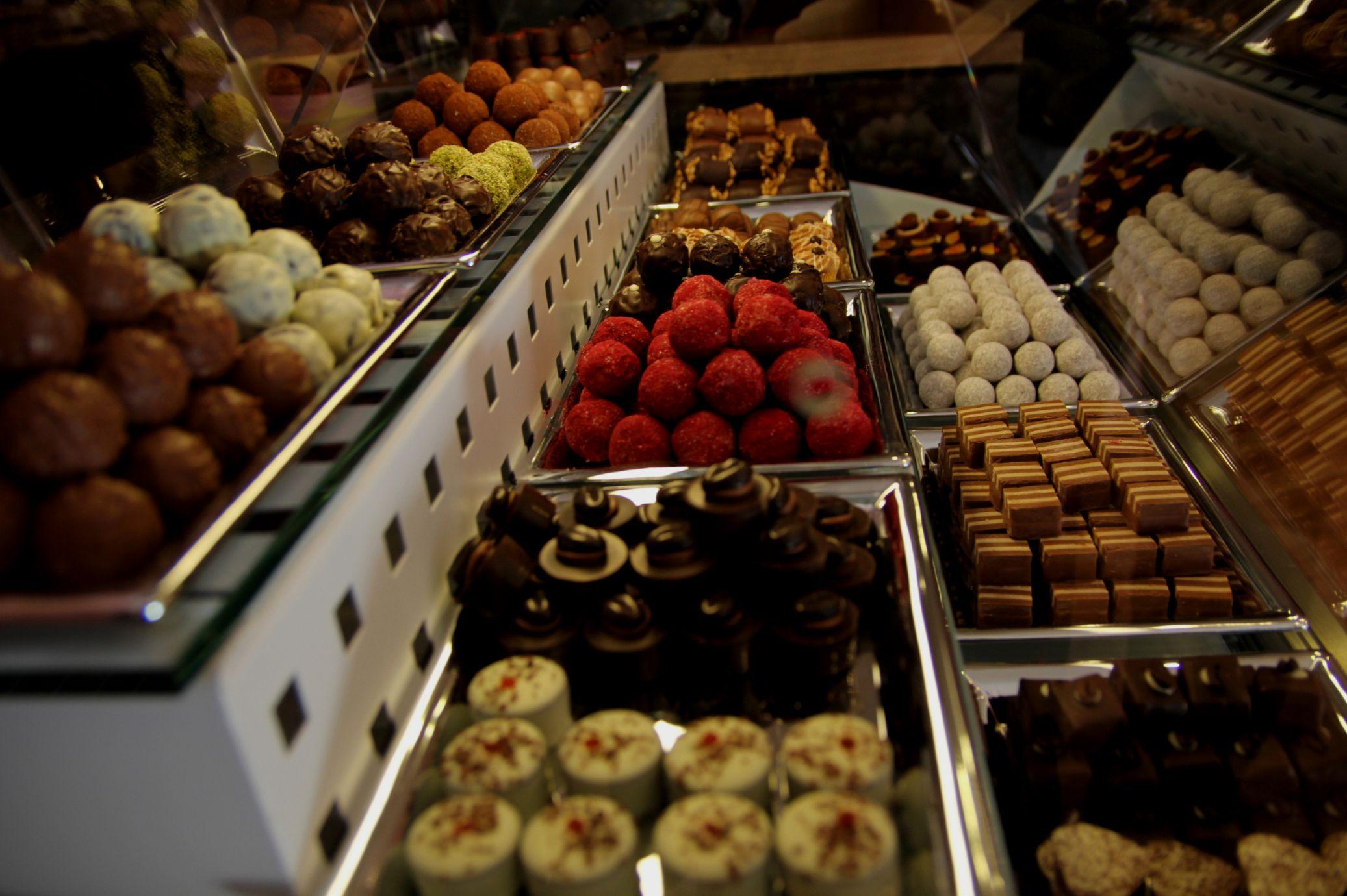 Chocolat Boutique der feinen Genüsse