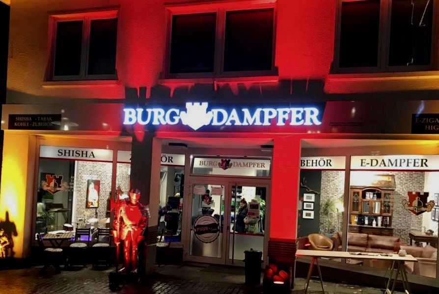 BurgDampfer GenußWelt