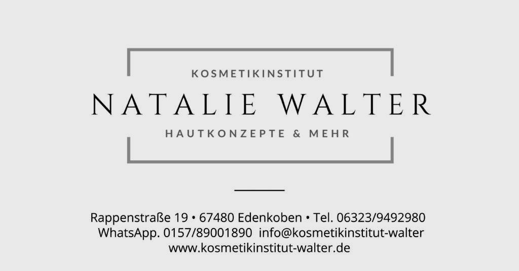 Kosmetikinstitut Natalie Walter - Hautkonzepte & mehr