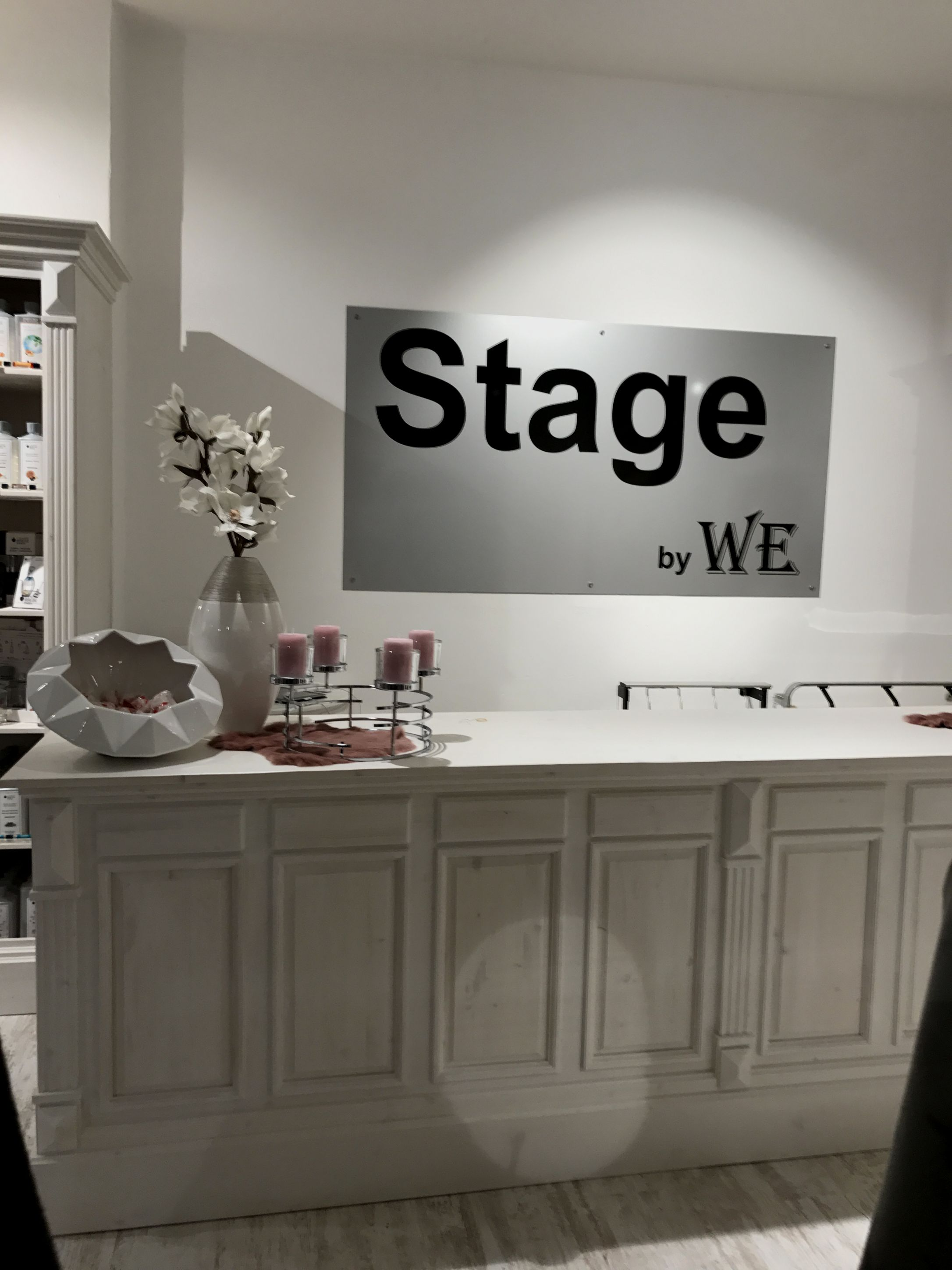 Stage by WE