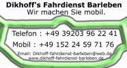 Dikhoff's Fahrdienst Barleben