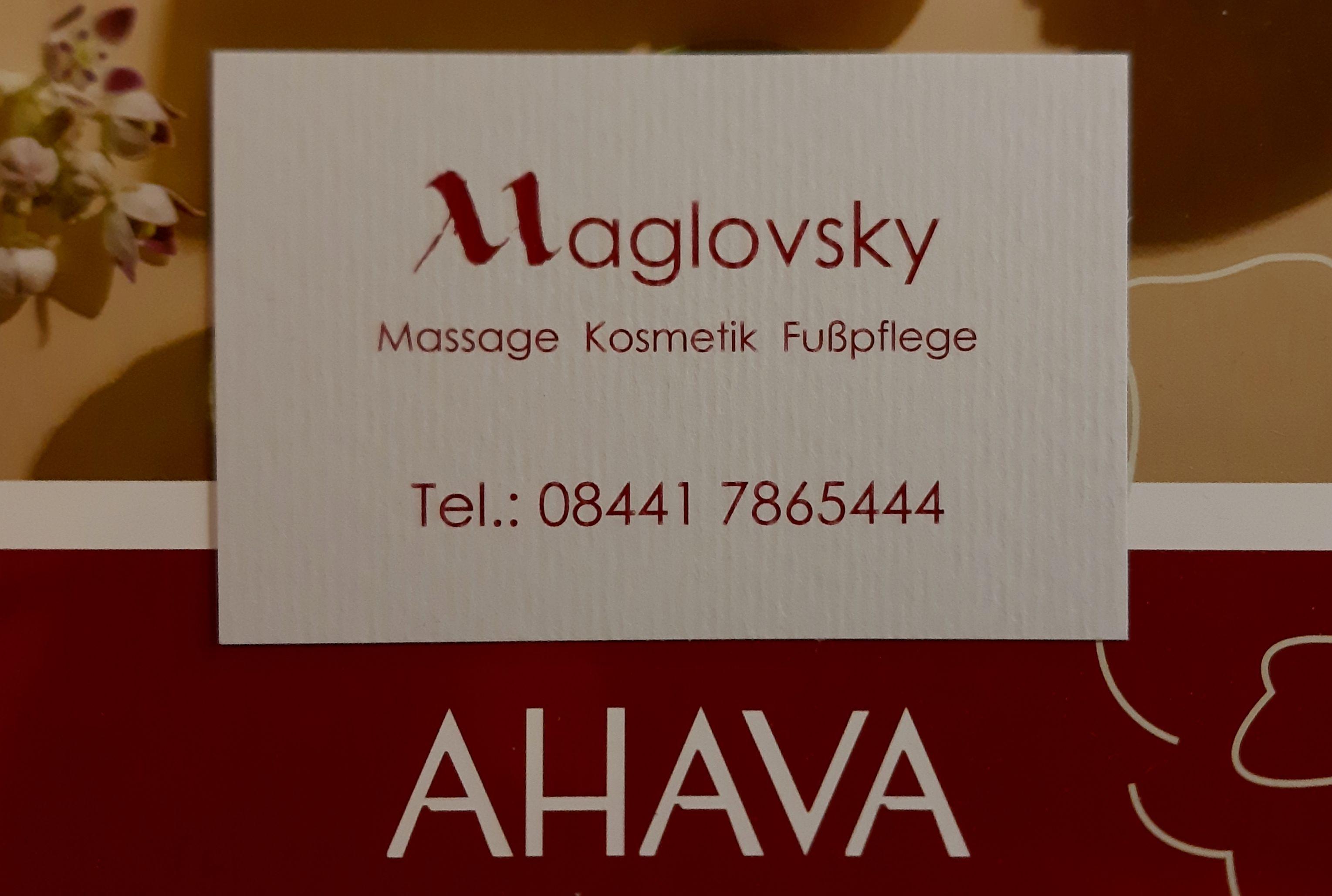 Maglovsky Massage Kosmetik Fußpflege