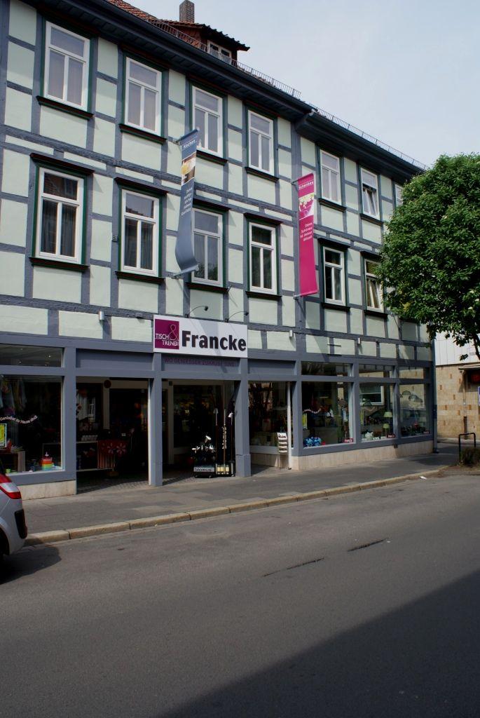 Francke, Wohn-und Tischkultur