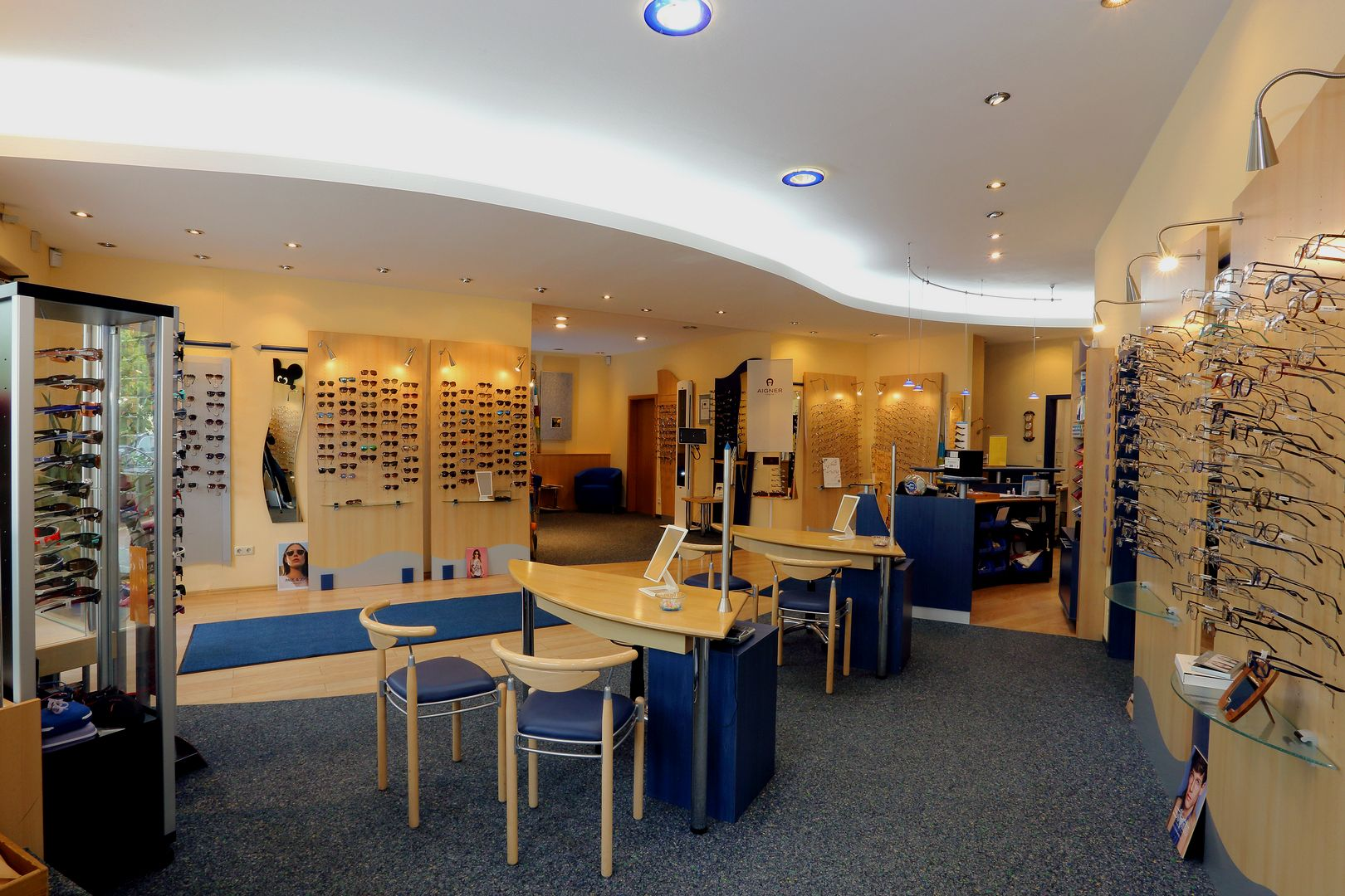Feine Augenoptik