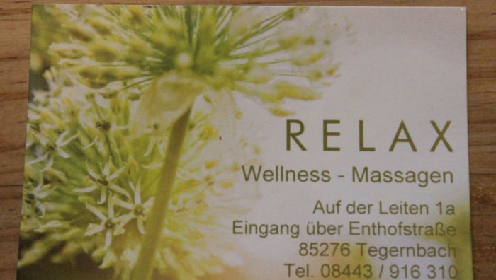 RELAX Wellness-Massagen Tegernbach