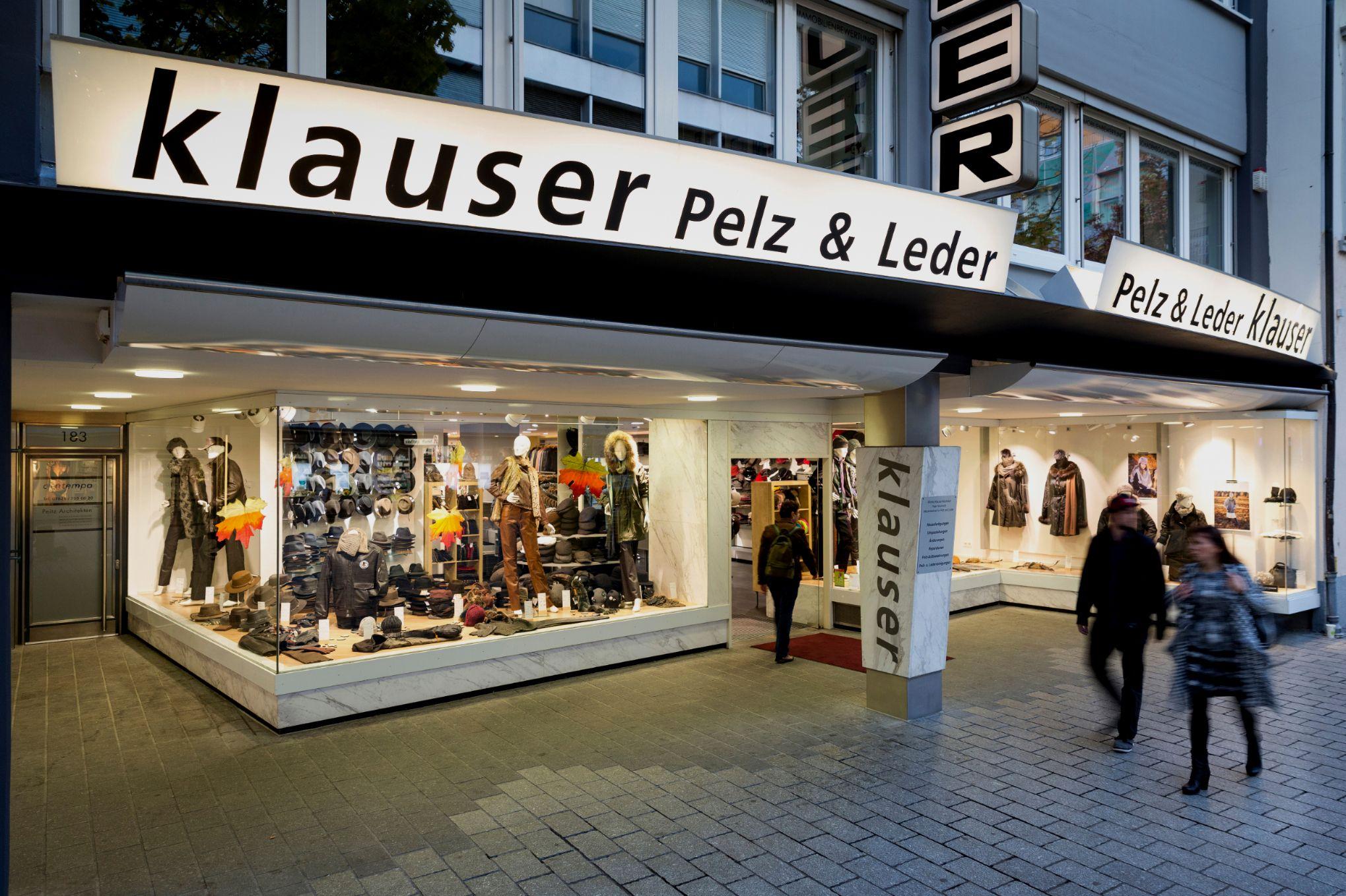 Klauser    Pelz - Leder - Accessoires
