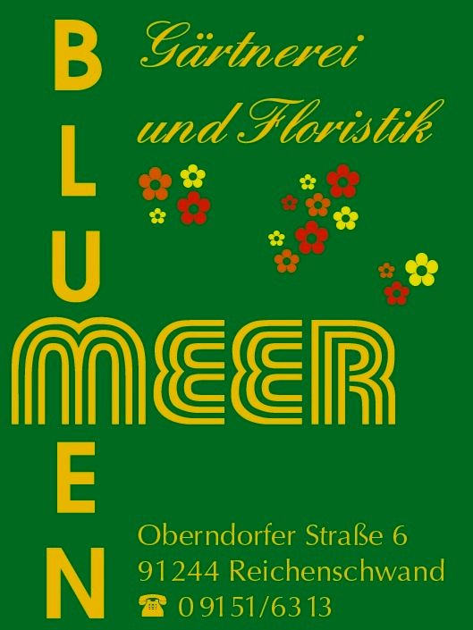 Gärtnerei und Floristik Blumen Meer