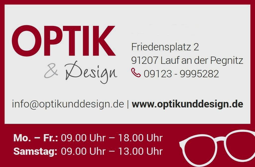 OPTIK & Design - Dein OPTIKER in Lauf