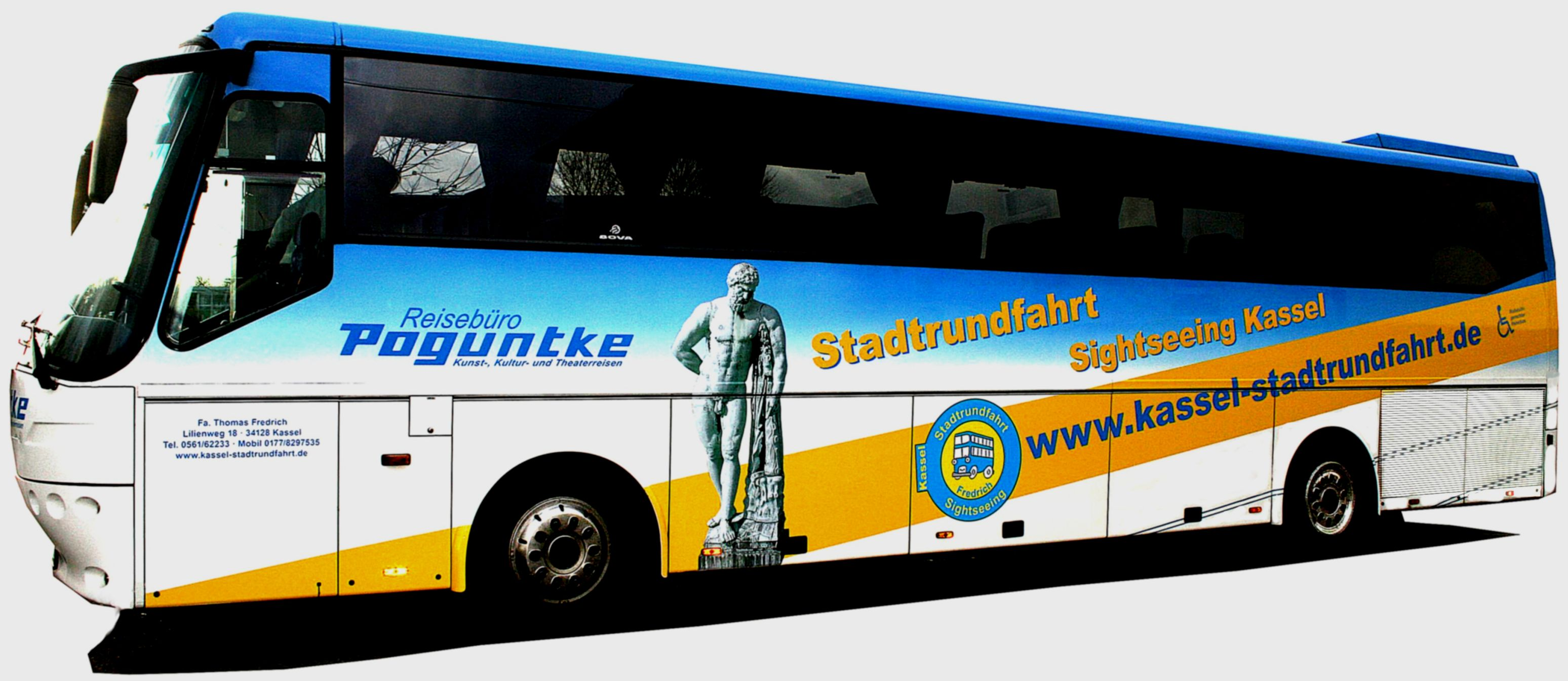 Kassel Stadtrundfahrt und Reisebüro